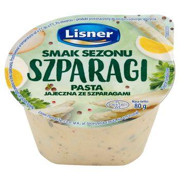 Lisner Smak Sezonu Pasta jajeczna ze szparagami 80 g
