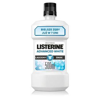 Listerine Advanced White Płyn do płukania jamy ustnej 500 ml