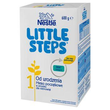 LITTLE STEPS 1 Mleko początkowe w proszku dla niemowląt od urodzenia 600 g (2 x 300 g)