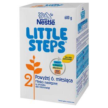LITTLE STEPS 2 Mleko następne w proszku dla niemowląt powyżej 6. miesiąca 600 g (2 x 300 g)