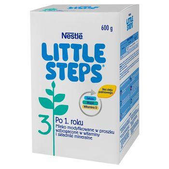 LITTLE STEPS 3 Mleko modyfikowane w proszku dla dzieci po 1. roku 600 g (2 x 300 g)
