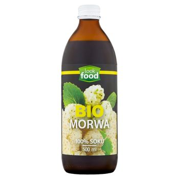 Look Food Bio sok morwa biała 500 ml