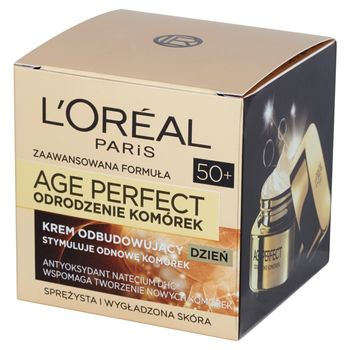 L'Oreal Paris Age Perfect Odrodzenie Komórek 50+ Krem odbudowujący na dzień 50 ml