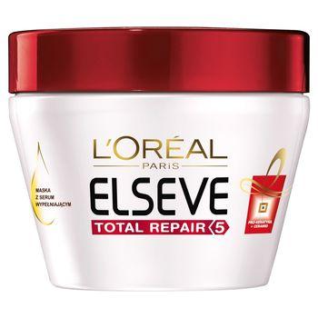 L'Oreal Paris Elseve Total Repair 5 Maska z serum wypełniającym do włosów zniszczonych 300 ml