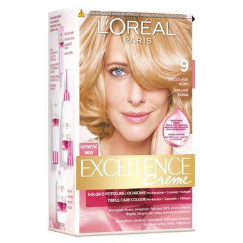 L'Oréal Paris Excellence Creme Farba do włosów 9 Bardzo jasny blond
