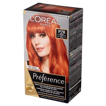 L'Oréal Paris Préférence Farba do włosów bardzo intensywna miedź P78 Ibiza