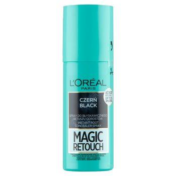 L'Oreal Paris Magic Retouch Spray do błyskawicznego retuszu odrostów czerń 75 ml