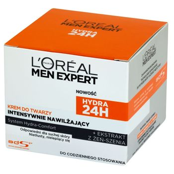 L'Oréal Paris Men Expert Hydra 24H Krem do twarzy intensywnie nawilżający 50 ml
