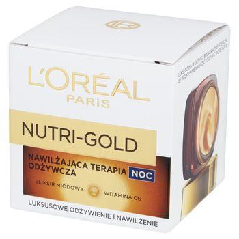 L'Oreal Paris Nutri-Gold Nawilżająca terapia odżywcza Krem na noc 50 ml
