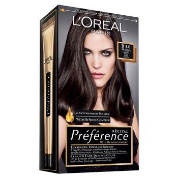 L'Oréal Paris Récital Préférence Farba do włosów B 3.0 Brasilia