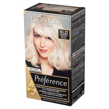 L'Oréal Paris Préférence Farba do włosów bardzo bardzo jasny perłowy blond 10.21 Stockholm