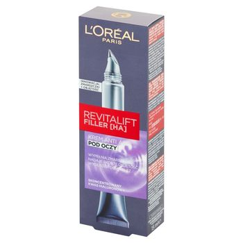 L'Oreal Paris Revitalift Filler HA Krem Anti Age pod oczy 15 ml