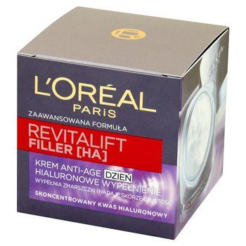 L'Oreal Paris Revitalift Filler HA Krem Anti-Age na dzień Hialuronowe Wypełnienie 50 ml