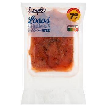 Simpl Łosoś sałatkowy wędzony na zimno 200 g