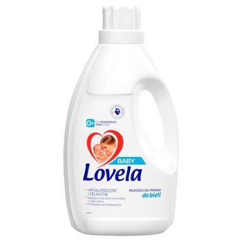 Lovela Baby Hipoalergiczne mleczko do prania do bieli 1,45 l (16 prań)