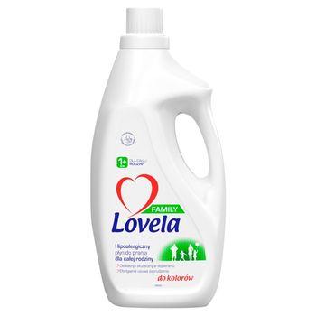 Lovela Family Hipoalergiczny płyn do prania do kolorów 1,85 l (28 prań)