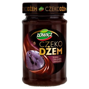 Łowicz Czekodżem śliwka z belgijską czekoladą 250 g
