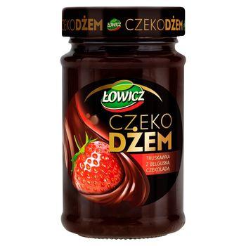 Łowicz Czekodżem truskawka z belgijską czekoladą 250 g