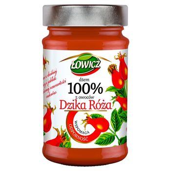 Łowicz Dżem 100% z owoców dzika róża 235 g