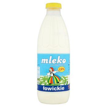 Łowicz Mleko łowickie 2,0% 1 l