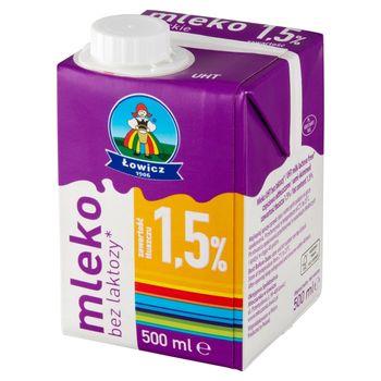 Łowicz Mleko łowickie bez laktozy UHT 1,5% 500 ml