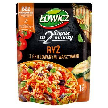 Łowicz Ryż z grillowanymi warzywami 250 g