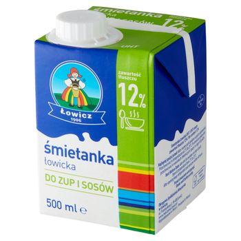 Łowicz Śmietanka łowicka UHT 12% 500 ml
