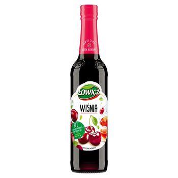 Łowicz Syrop o smaku wiśniowym 400 ml