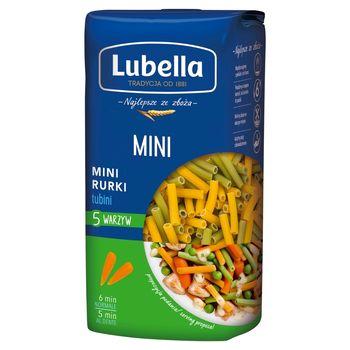 Lubella Makaron mini rurki 5 warzyw 400 g