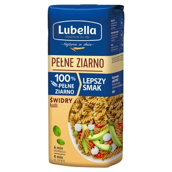 Lubella Pełne Ziarno Makaron świdry 400 g