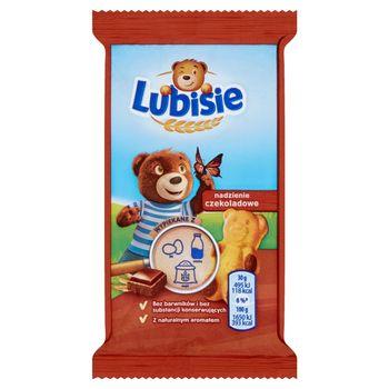 Lubisie Ciastko biszkoptowe z nadzieniem czekoladowym 30 g