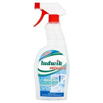 Ludwik anty para Płyn do mycia szyb i glazury 750 ml