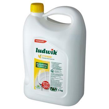 Ludwik Płyn do mycia naczyń cytrynowy 5 kg