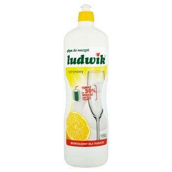 Ludwik Płyn do naczyń cytrynowy 1150 g