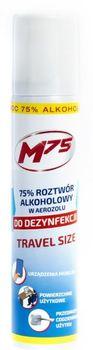M75 Aerozol do dezynfekcji powierzchni i przedmiotów - opakowanie travel size 90 ml