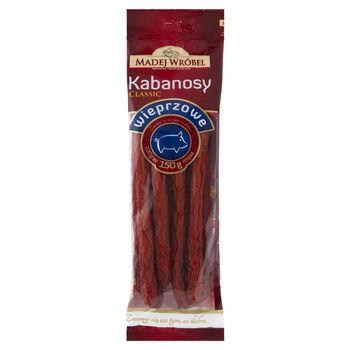 Madej Wróbel Classic Kabanosy wieprzowe 175 g