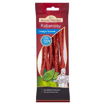 Madej Wróbel Kabanosy wieprzowe 120 g