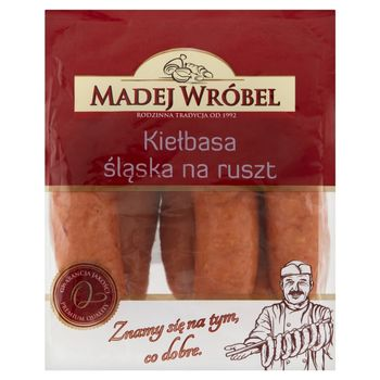 Madej Wróbel Kiełbasa śląska na ruszt 0,6 kg