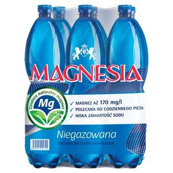 Magnesia Naturalna woda mineralna niegazowana 6 x 1,5 l