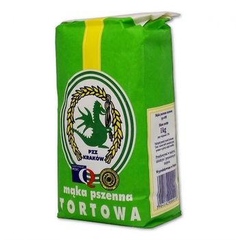 PZZ Kraków Mąka pszenna tortowa typ 450 1 kg