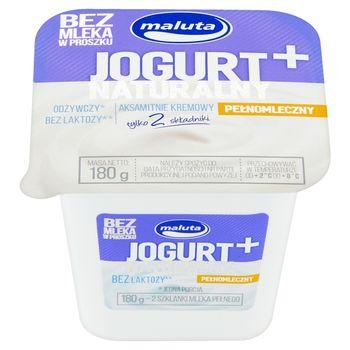 Maluta Jogurt naturalny pełnomleczny bez laktozy 180 g
