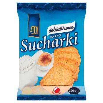 Mamut Sucharki extra delikatesowe 290 g
