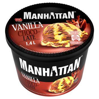 Manhattan Lody waniliowo-czekoladowe 1400 ml