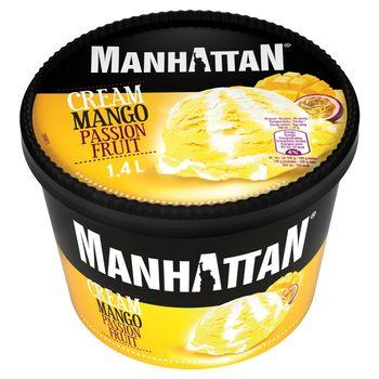 Manhattan Lody ze śmietanką i sorbet mango-marakuja 1400 ml