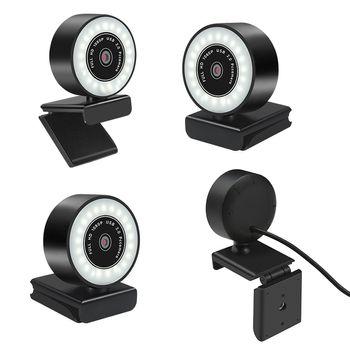 Manta W180 Kamera internetowa z mikrofonem oraz oświetleniem LED