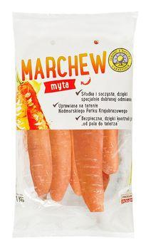 """Marchew """"Jakość z Natury Carrefour"""" 1 kg"""