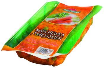 Marchewka z groszkiem 500 g