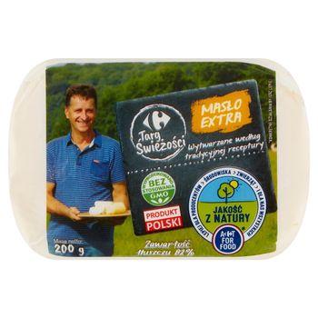 Carrefour Targ Świeżości Masło extra 200 g
