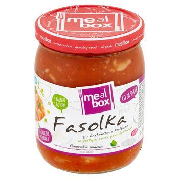 Meal Box Fasolka po bretońsku z kiełbasą w gęstym sosie pomidorowym 500 g