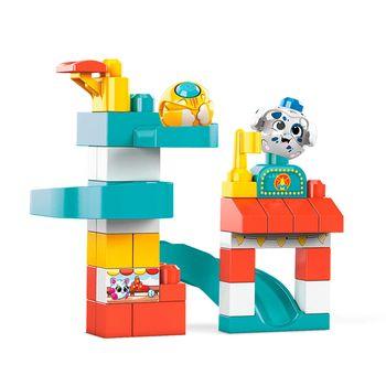 Mega Bloks Klocki A kuku Zjeżdżalnia i plac zabaw